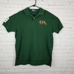 Polo by Ralph Lauren Green Polo Rugby Shirt XL